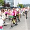 SkirtBike Oradea 2016 - Cochete pe biciclete - Marș împotriva cancerului la sân