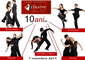 """Muncă, talent, performanță - 10 ani de activitate """"Exclusive"""""""