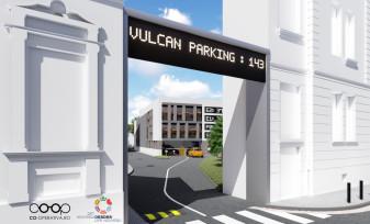 Parcări supraetajate în zona centrală – Patru niveluri pe str. Iosif Vulcan