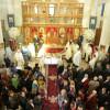 La zece ani de la punerea pietrei de temelie-Prima Sfântă Liturghie la Biserica de pe deal