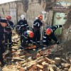 Marghita. Incendiu urmat de explozie - Cinci victime captive sub dărâmături