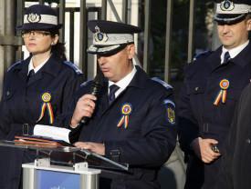 100 de ani de la înfiinţarea Şcolii de Jandarmi Oradea Mare - Dezvelirea plăcii comemorative