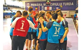 Parcurs catastrofal pentru handbaliști - CSM Oradea a pierdut toate jocurile