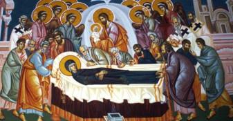 Joi, 15 august - Adormirea Maicii Domnului