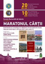 """""""Maratonul cărții"""" la Universitatea din Oradea - Festin jubiliar organizat de Școala Doctorală de Istorie"""