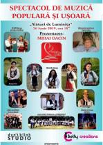 Spectacol caritabil de muzică populară și ușoară - Fiţi alături de Luminița!
