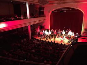 Filarmonica de Stat Oradea, după relaxarea restricțiilor - Primul concert în aer liber