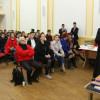 """La Liceul Greco-Catolic """"Iuliu Maniu"""" - Dezbatere pentru diminuarea violenței"""