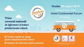 Caravana de informare și testare gratuită a bolii celiace - Rezultate în 10 minute