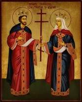 Sfinţii Împăraţi Constantin şi Elena - Sărbătoarea zilei