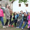 Un program pentru copii cu situaţii sociale nefavorabile - Tineri din cinci țări la Săcueni