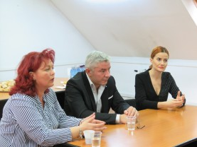 Întâlnire interactivă la sediul DAS Oradea - Despre persoanele cu dizabilități