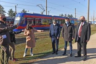 Ultimul dar... nu cel din urmă - Oradea are 20 de tramvaie nou-nouțe!