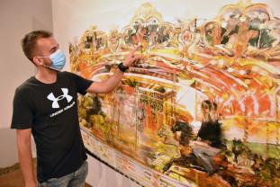 """În Galeria de Artă-Reperaj-Cetatea Oradea - ,,După 30 de ani - priveşte înapoi spre viitor"""""""