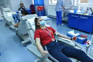 Donare de Sânge - Vicecampioană națională la box alături de jandarmi