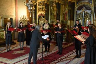 În onoarea Nunțiului Apostolic, seară înălțătoare la catedrala greco-catolică - Concert de muzică sacră