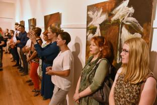 O nouă expoziţie de pictură în Cetate - Îngeri și demoni