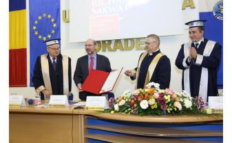 """Richard Sakwa, la Universitatea din Oradea - """"UE trebuie să devină și un proiect social"""""""