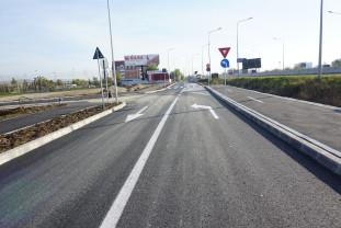Trafic ușurat pe șoseaua de centură - Drumul colector, între străzile Borcea şi Ciheiului, deschis circulației!