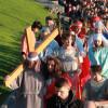 Sute de credincioși au refăcut Drumul Crucii - Pe Golgota Oradiei