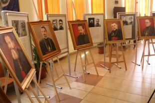 """Ştefan Popa-Popa's expune la Biblioteca Judeţeană din Oradea - """"Martirii"""", în şapte portrete"""