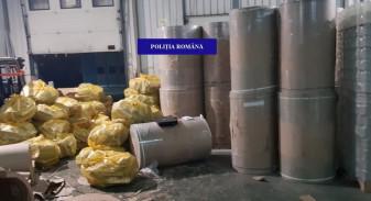 Peste patru milioane de bucăţi ascunse în role de hârtie - Captură record de ţigări de contrabandă