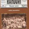 """Revista satului Fânațe, retipărită - """"Rânduri"""" a apărut în anul 1935"""
