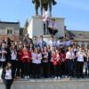 Elevii orădeni susțin familia tradițională și valorile acesteia - Acțiune stradală la Oradea