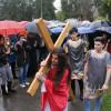 """Pe """"Golgota"""" Oradiei - Credincioşii orădeni au refăcut Calea Crucii"""