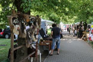 Muzeu viu în aer liber, la Oradea - A început Târgul Meșterilor Populari!