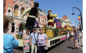 Explozie de culoare, în centrul orașului - Carnavalul Florilor Oradea