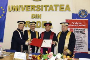 Academicianul de top, Liviu Pop - Doctor Honoris Causa al Universității din Oradea