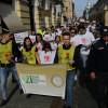 Sute de persoane cu dizabilități au mărșăluit prin centrul orașului - Ziua Mondială a Sindromului Down