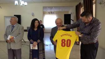 Ionel Bondor, omagiat de Federația Română de Fotbal! - Lansare de carte la Beiuş