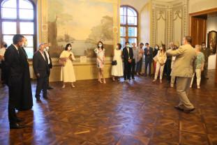 Palatul episcopal romano-catolic, inaugurat parțial - Expoziție de artă ecleziastică
