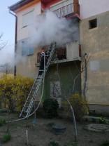 Un apartament din Valea lui Mihai - A luat foc de la o țigară