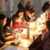 Tradiţii pascale la noul sediul al Muzeului Ţării Crişurilor - Atelier de încondeiat ouă