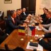 Emisarul statului ceh a participat la întâlniri cu oficialitățile locale - Ambasadorul Cehiei, în prima sa vizită la Oradea