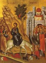 Duminică, 12 aprilie - Intrarea Domnului în Ierusalim (Floriile)