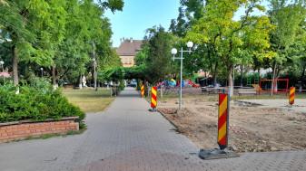Beiuș - Echipamente de joacă vandalizate înainte de a fi inaugurate