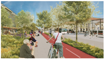 Proiectarea coridorului de mobilitate Magheru - Republicii - A intrat în procedura de achiziție