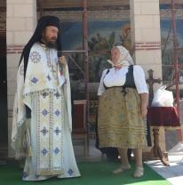 La Mănăstirea Izbuc - Odovania praznicului Adormirii Maicii Domnului