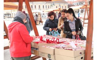 Simbolurile primăverii au împânzit Oradea