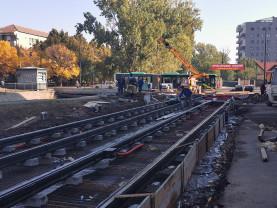 De Crăciun sau Anul Nou - Orădenii ar putea circula pe noua linie de tramvai Aradului-Nufărul