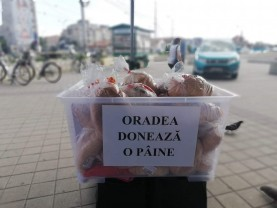 """Joi, 25 iulie, o nouă ediție a proiectului - """"Oradea donează o pâine"""""""