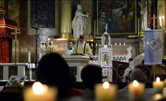 Program liturgic în Catedrala Romano-Catolică - Credincioșii catolici se pregătesc de Florii