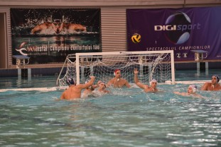 CSM Oradea şi-a atins obiectivul - S-a calificat în play-off-ul Ligii Campionilor la polo