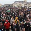 În Piața Unirii, în jur de 8.000 de participanţi - Miting pentru familia tradițională