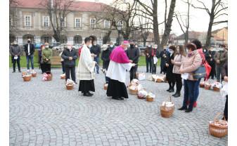 Catolicii din Bihor - Au sărbătorit Învierea Domnului