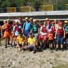 Rafting, tir şi tenis de masă - Un triatlon inedit la Vadu Crişului